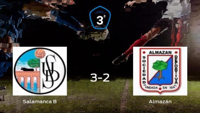 Victoria del Salamanca CF UDS B por 3-2 frente al Almazán