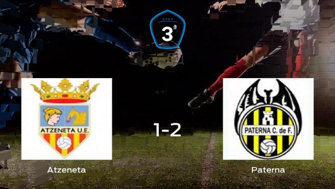 El Paterna se impone al Atzeneta y consigue los tres puntos (1-2)