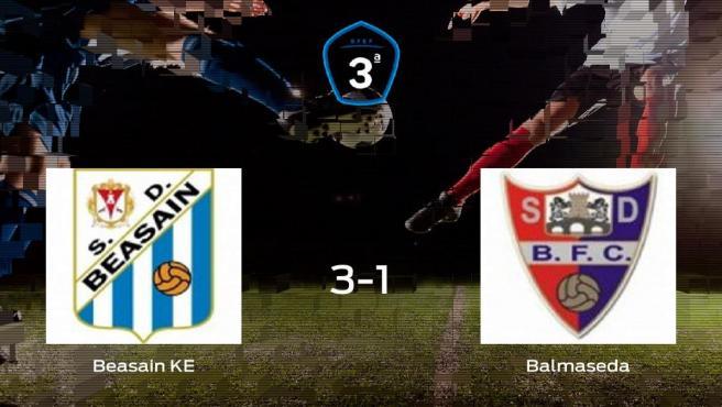 El Beasain KE consigue los tres puntos frente al Balmaseda (3-1)
