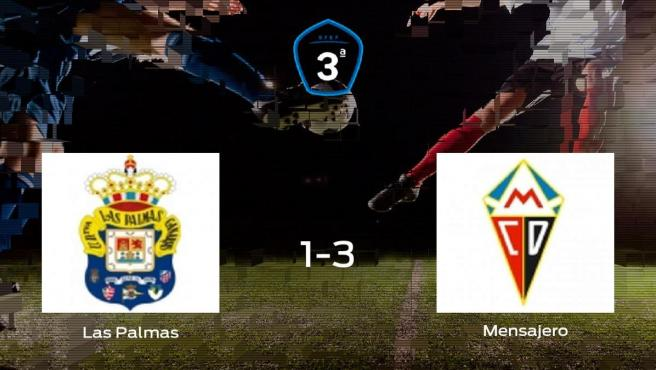 El Mensajero derrota en el Anexo Estadio de Gran Canaria al Las Palmas C (1-3)