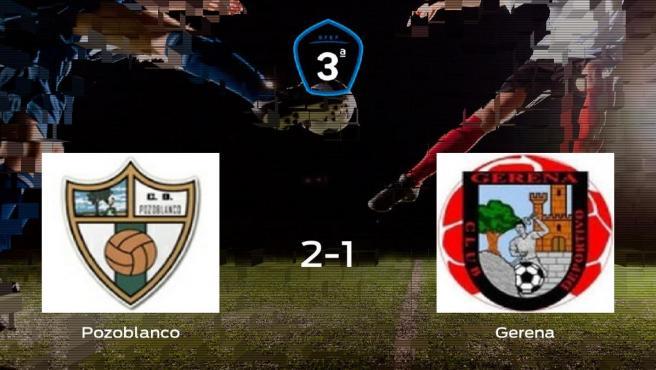 El Pozoblanco consigue la victoria en casa frente al Gerena (2-1)