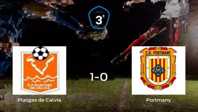 El Platges de Calvia consigue la victoria frente a la SD Portmany (1-0)