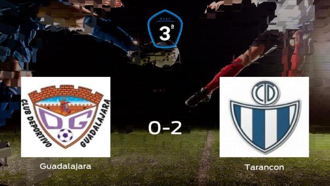 El Tarancon se queda con los tres puntos después de vencer 0-2 al Guadalajara