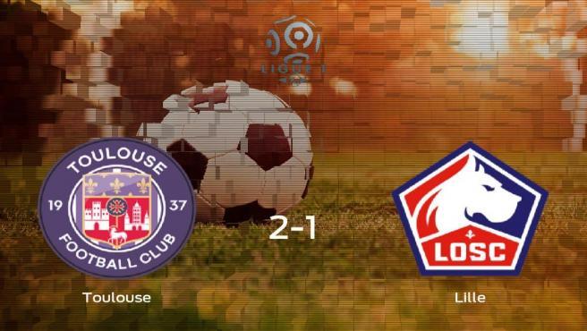 Triunfo del FC Toulouse frente al OSC Lille (2-1)