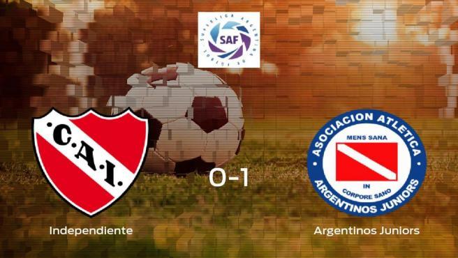 El Argentinos Juniors deja sin sumar puntos al Independiente (0-1)
