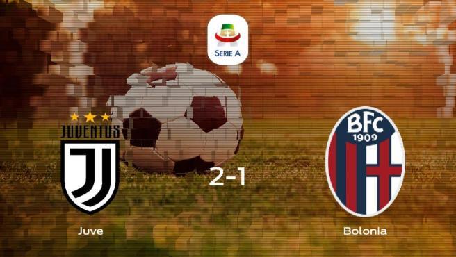 Triunfo de la Juventus ante el Bolonia (2-1)