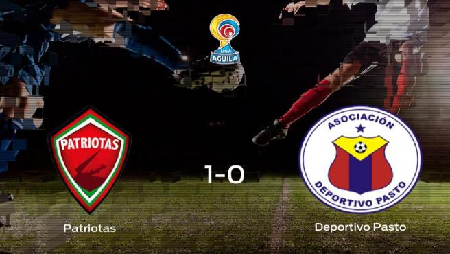 El Patriotas Boyacá se hace fuerte en casa y derrota al Deportivo Pasto