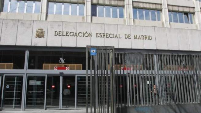 Delegación en Madrid de la AEAT.