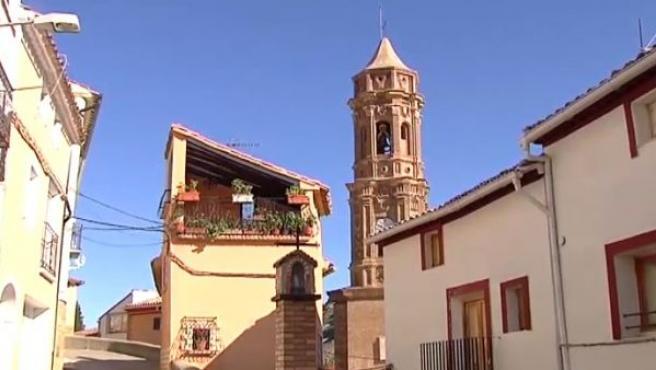 Un pueblo de Teruel de la España vaciada.