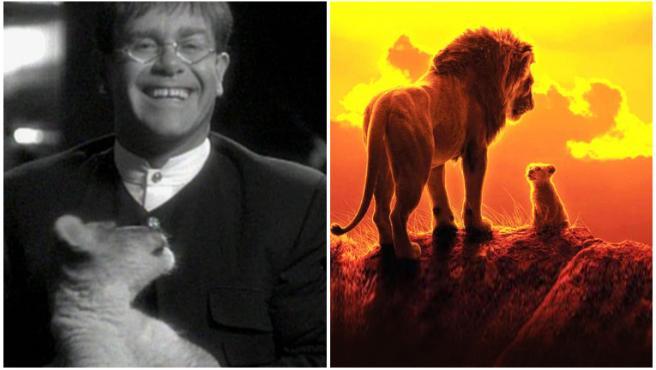 """Elton John califica al remake de 'El rey león' de Disney como """"una gran decepción"""""""