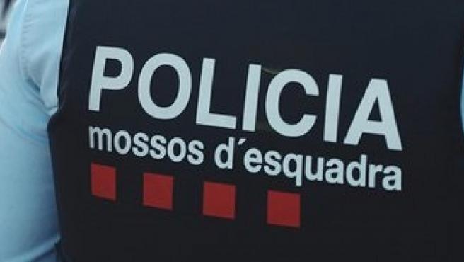 Agentes de patrulla de los Mossos d'Esquadra.
