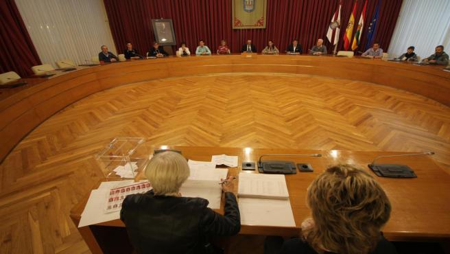 Sorteo de las mesas electorales en Logroño