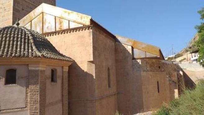 Estado final de la iglesia de Santa María de Lorca