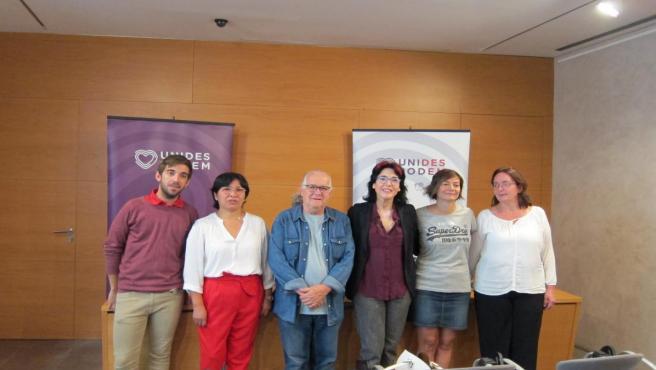 Presentación de la candidatura de Unidas Podemos