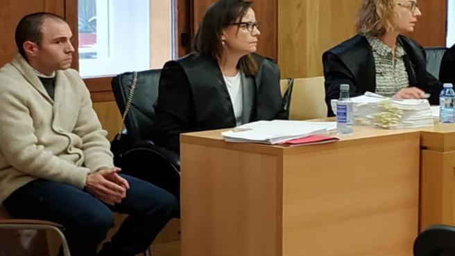 El chamaco' en Juicio en la Audiencia de Lugo.