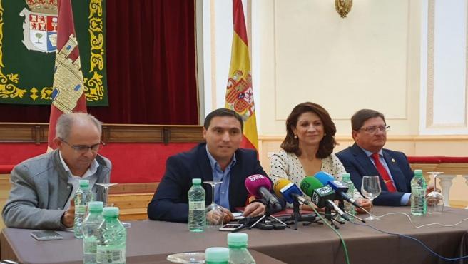 El presidente de la Diputación de Cuenca en rueda de prensa
