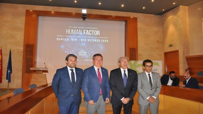 Presentación de la Conferencia Internacional de Parques Tecnológicos que se celebrará en el PCT Cartuja en octubre de 2020.