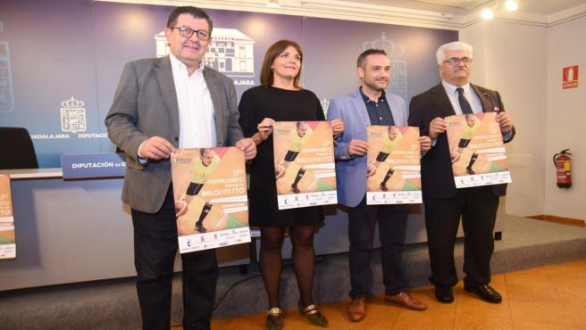 Presentación 17º Campeonato Regional de Baloncesto de personas con discapacidad intelectual en Guadalajara