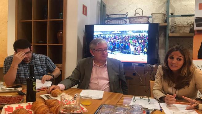 Director General de la Fundación, el director general, Josep Oriol Pujol, en rueda de prensa