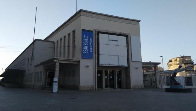 Fachada del CAC Málaga