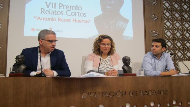 Presentación del Premio de Relatos Cortos 'Antonio Reyes'