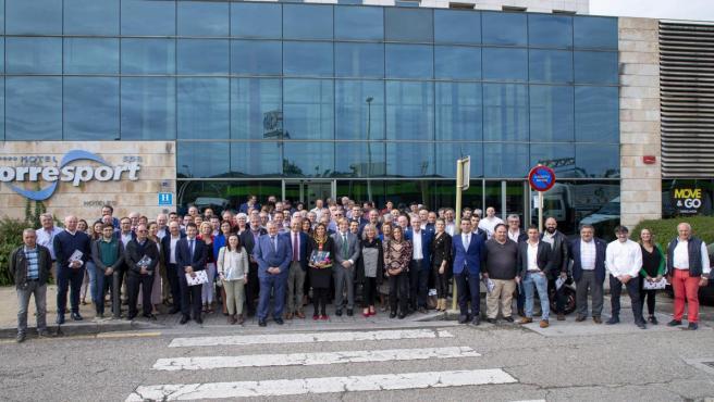 La 33ª Asamblea General de la Federación de Municipios de Cantabria (FMC) en la que se ha reelegido a Pablo Diestro como presidente