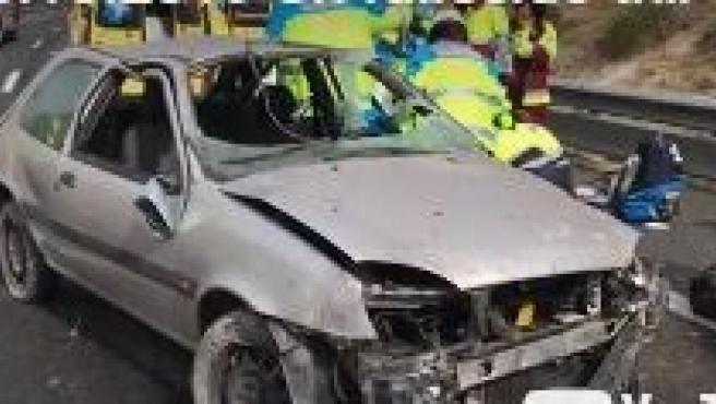 Estado del vehículo cuyo conductor ha muerto en accidente en la A-3