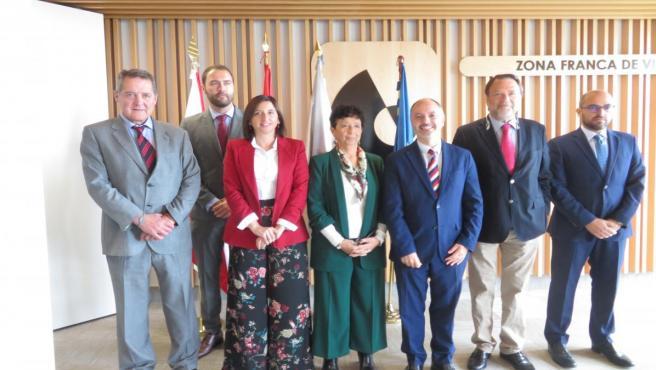 Reunión de los delegados de las zonas francas de Cádiz