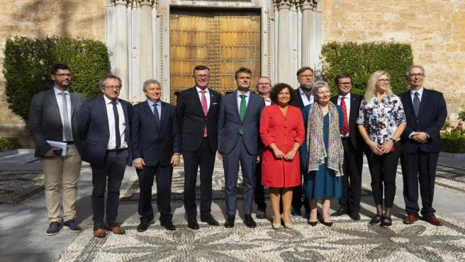Constitución del Consejo de Rectores de la Alianza Europea Arqus