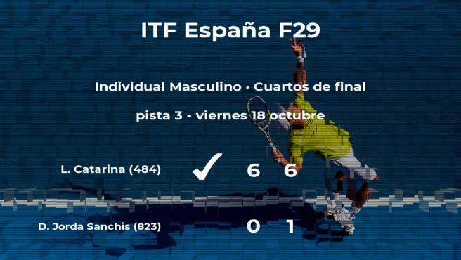 El tenista David Jorda Sanchis cae eliminado en los cuartos de final del torneo de Madrid