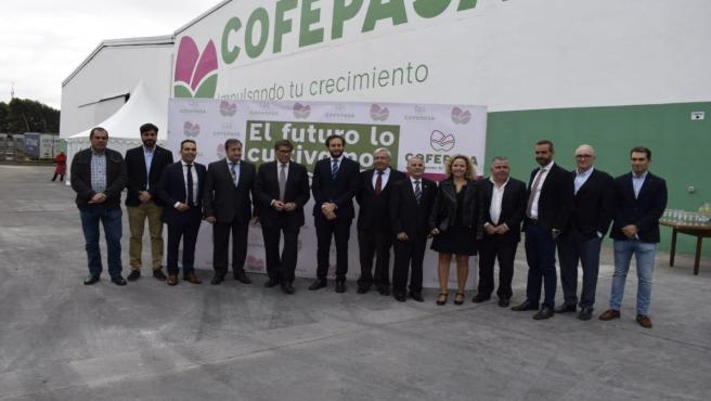 Aliaga nuevas instalaciones de la empresa Cofepasa en Monzón