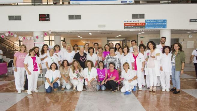 Día Internacional contra el Cáncer de Mama en el Hospital Son Llàtzer.