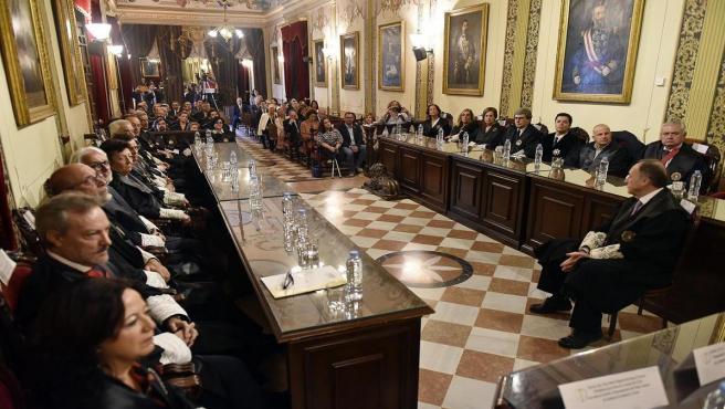 Entrega del II premio Justicia Social Andaluza.