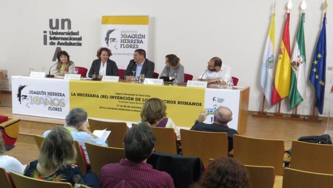 Congreso Internacional sobre Derechos Humanos en homenaje al profesor Joaquín Herrera en la UNIA.