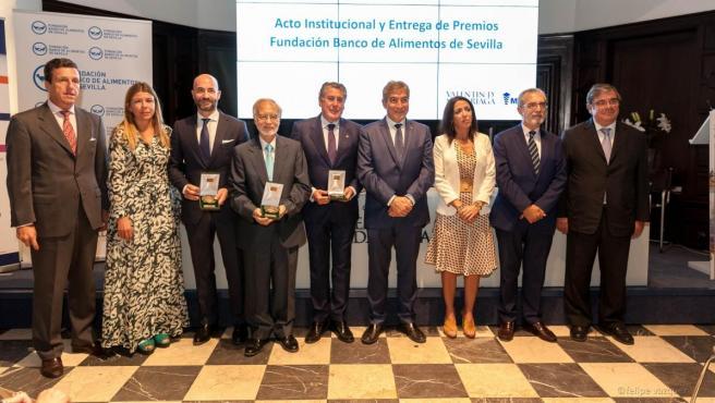 Entrega de premios de la Fundación Banco de Alimentos de Sevilla.