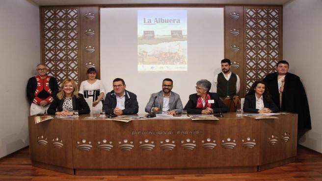 Presentación de las guías turísticas de La Albuera