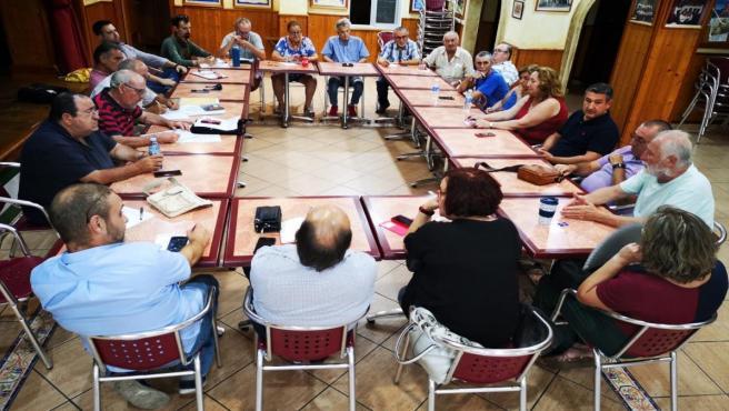 Reunión de la Meda de Trabajo de La Línea