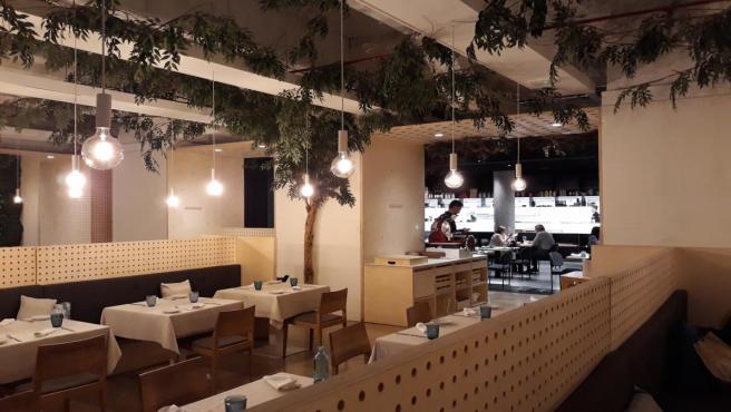El nuevo interior del restaurante Habitual, del chef Ricard Camarena