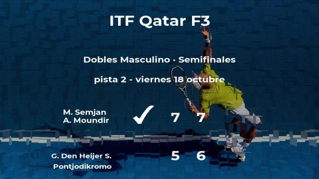 Semjan y Moundir logran clasificarse para la final del torneo de Doha