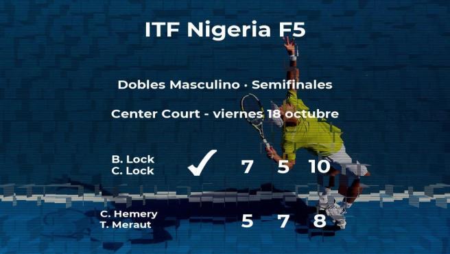Victoria de Lock y Lock en las semifinales del torneo de Lagos