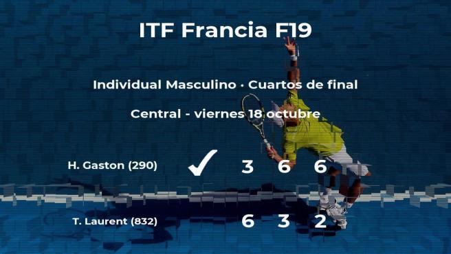 El tenista Hugo Gaston se clasifica para las semifinales del torneo de Rodez