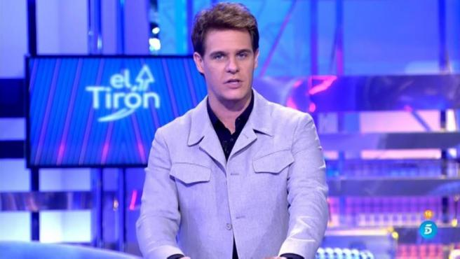 Christian Gálvez, en el primer programa de 'El Tirón'.