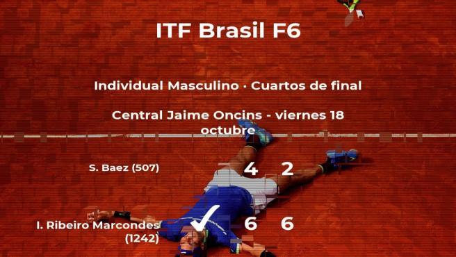 Igor Ribeiro Marcondes se clasifica para las semifinales del torneo de Sao Paulo