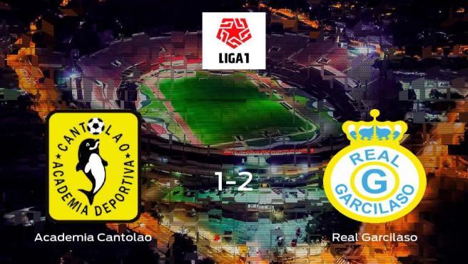El Real Garcilaso vence 1-2 al Academia Cantolao y se lleva los tres puntos