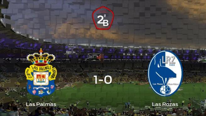 Los tres puntos se quedan en casa: Las Palmas At. 1-0 Las Rozas