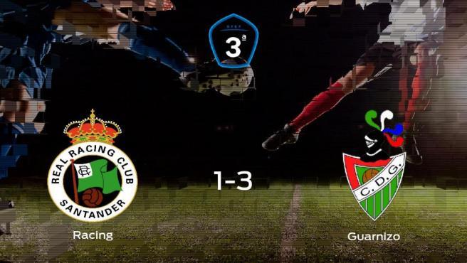 El Guarnizo se impone al Racing B y consigue los tres puntos (1-3)