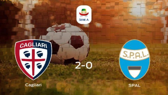 El Cagliari suma tres puntos a su casillero tras ganar al SPAL (2-0)
