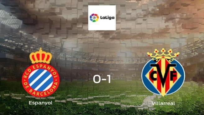 El Villarreal se lleva los tres puntos frente al Espanyol (0-1)