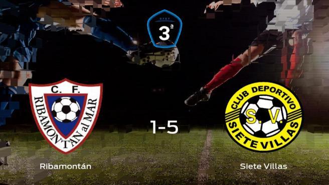 El Siete Villas se lleva los tres puntos a casa tras golear al Ribamontán al Mar (1-5)