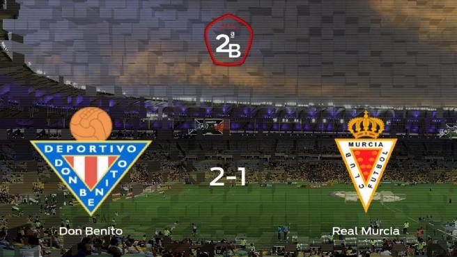 El Don Benito suma tres puntos a su casillero tras ganar al Real Murcia (2-1)